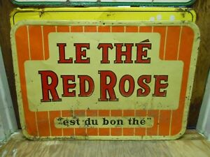 Vielle Pancarte The red rose