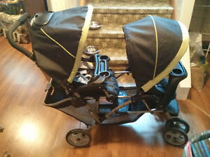 SOLD! - Graco Double Stroller