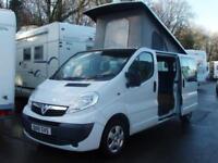 2010 (4 Berth) Pop-Top Camper Van / Motorhome ( Custom Buses Conversion )