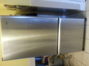 Kenmore stainless steel fridge NOT COOLING
