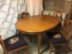 Dining Table and Side Board