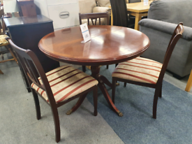 Dining table set 3 chairs £50
