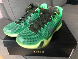 Kobe 10, Curry 2, D Lillard, Hyperdunk 2014 Size 10