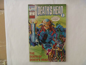 DEATH'S HEAD Comics by Marvel