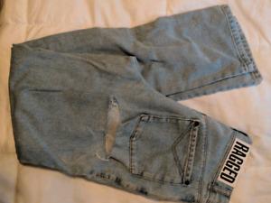 Ragged priest butt cut jeans