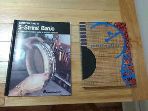 Guitar/Banjo Making Books - Roger Siminoff, Cumpiano/Natelson