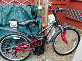 """Apollo FS24 24"""" wheel full suspension mountain bike"""