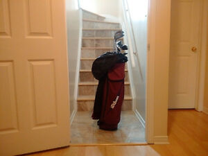 WILSON CART LITE Cart Bag with Golf Set and more, Right Hander!