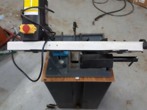 Craftex cx112 metal bandsaw works good