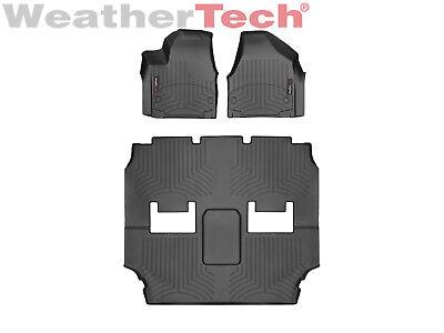 Weathertech Floor Mats Floorliner For Chrysler Pacifica  1St 2Nd 3Rd Row   Black