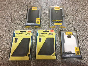 Variety of Otterbox cases