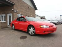 2001 Chevrolet Monte Carlo SS Coupe (ONLY 67,000 KM'S)