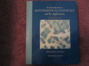 An Intro to Mathematical Statistics and Its Applications 5th Ed