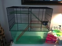 Hamster/ Gerbil Cage & Accessories