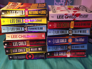 'Jack Reacher' paperbacks by Lee Child (13 @ $5 EACH)