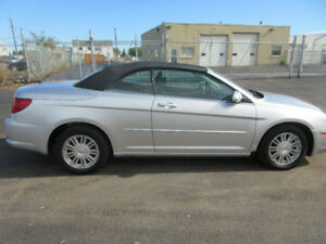 2008 CHRYSLER SEBRING-CONVERTABLE-COUPE-LEATHER-CLEAN CARPROOF