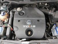 Volkswagen Bora for breaking 100bhp 1.9tdi engine