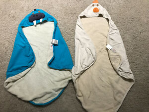3 sprouts organic cotton hooded towels