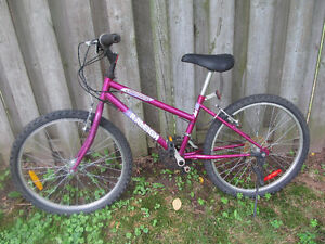 Ladies Girls Raleigh Mountain Bike