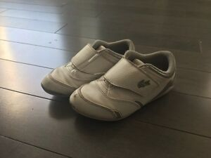 Toddler Lacoste shoes