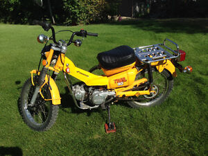 MAKE ME AN OFFER 1978 HONDA CT90 VERY GOOD CONDITION