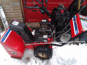 5hp/24 inch snowblower for sale great WORKIN Peterborough Peterborough Area image 2