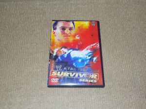 WWE SURVIVOR SERIES DVD NOVEMBER 2003 PPV UNDERTAKER VS. MCMAHON