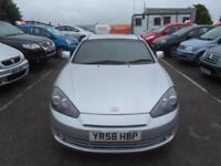 2008 Hyundai Coupe 3Dr 1.6 103 SIII Petrol silver Manual