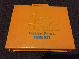 Vintage Fisher Price tool kit