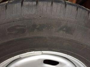 P265/70R17 M+S Tires on Rims Prince George British Columbia image 4