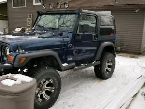 2001 Jeep Tj 178,000km's