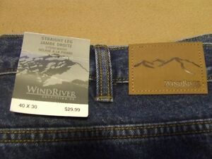 2 Pairs of Wind River Jeans 40 X 30 (NEW) Sarnia Sarnia Area image 2