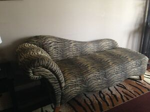 Animal Print Chaise Lounge London Ontario image 2