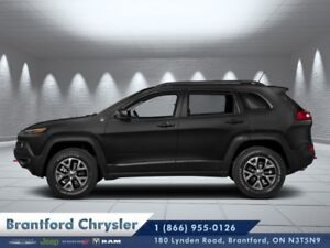 2018 Jeep Cherokee Trailhawk 4x4  - Leather Seats  - $256.14 B/W