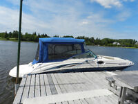 GOOD CONDITION 2003 Searay Sundeck plus trailer