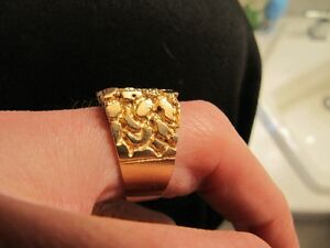 10K yellow gold ring West Island Greater Montréal image 3