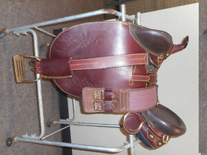 "Aussie Stock Saddle (Trade for 16 -17"" Western Saddle)"