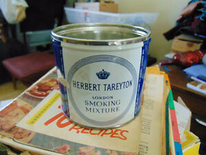 HERBERT TAREYTON LONDON SMOKING MIXTURE TIN