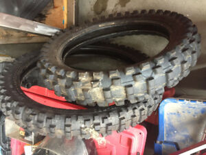 2 motor cycle tires brand new for sale
