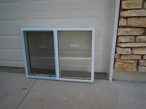 "Window, NEW, single slider 46"" w x 34"" h"