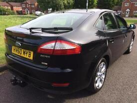 FORD MONDEO 1.8 TURBO DIESEL (2010) SPORT MODEL BLACK (SAT NAV)
