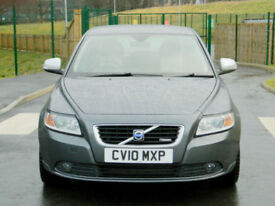2010 Volvo S40 2.0 D R-Design (Premium Pack) 4dr WITH FSH+CRUISE+CLEAN EXAMPLE!