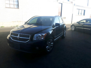 Dodge Caliber SXT 2007 black on grey fully loaded for sale