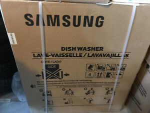 Brand new Samsung Stainless Steel Dishwasher