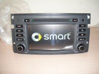 mb smart for tow navigation bluetooth dvd