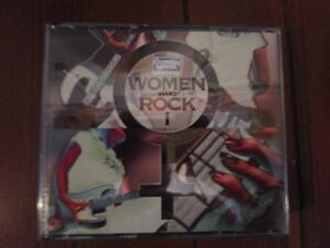 WOMEN WHO ROCK 1 - 3 Compact Disc collection