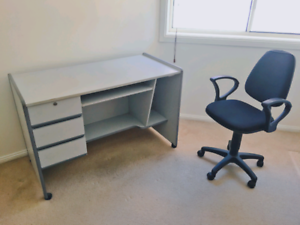 Study desk table with chair