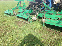 tractor and thatcher mower...or trade for 60 hp tractor