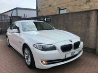 12 62 BMW 520D SPORT SE AUTO WHITE 4DR HEATED LTHR BODYKIT PARK B/TOOTH LOW TAX