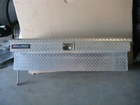 Challenger Checker Plate Side-Mount Tool Boxes
